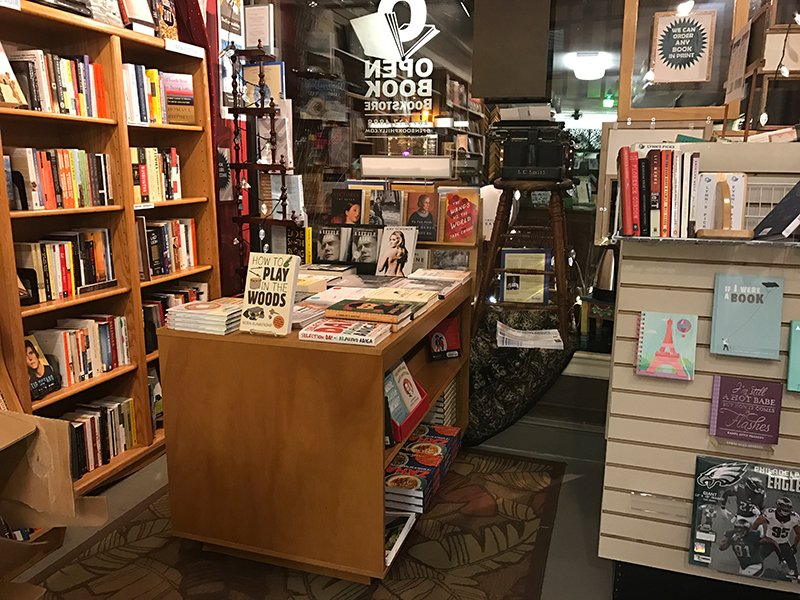 Open Book Independent Bookstore Elkins Park, Interior